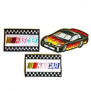 Nascar patch iron on patches race car hot rod DIY
